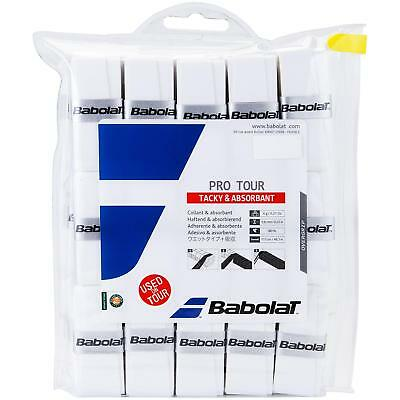 Babolat Pro Tour Tacky Feel Tennis Squash Overgrips (30 Pack)