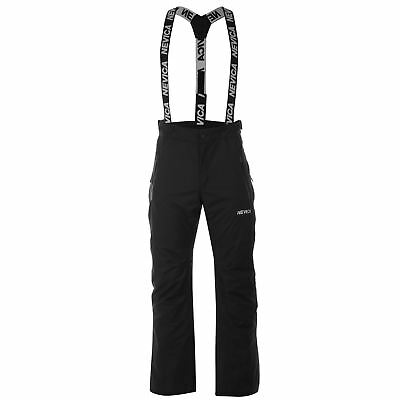 Nevica Mens Vail Ski Pants Salopettes Trousers Bottoms Waterproof Zip Mesh Warm