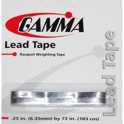Gamma Lead Tape 1,83m x 6,35mm (6,50 EUR/m)