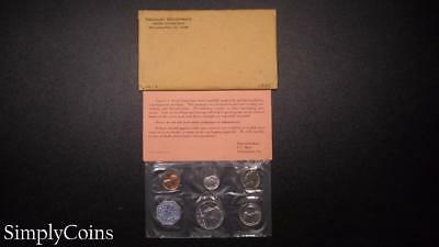 1964 Proof Set ~ Original Envelope With COA ~ US Mint Silver Coin Lot SKU-690