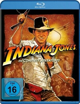 Indiana Jones - The Complete Adventures (Blu-ray, 4 Discs), Harrison Ford