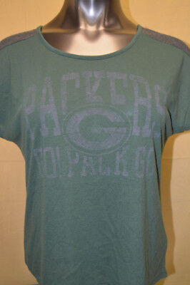 MAJESTIC WOMENS NFL Green Bay Packers Shirt NWT  32 S 62fb01216