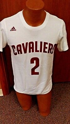 Nba Cleveland Cavaliers Kyrie Irving White Shirt Adidas New Mens Small
