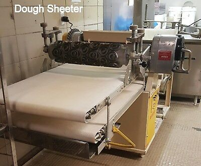 XL Dough SHEETER & 3 MOLDS Doughnut Donuts Reverse SEEWER RONDO Floor 1 Phase