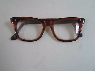 Vintage Retro Glasses Spectacles Thick Glass MAJOR 11 Made in England      §AGL4