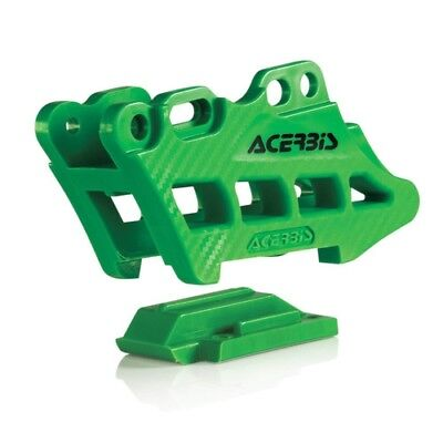 Acerbis Chain Guide Block 2.0 Green For Kawasaki KX 250 450 F 09-17