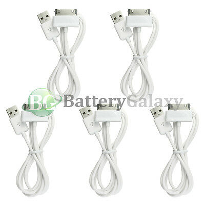 """5 NEW USB Sync Battery Charger Cable Cord for Samsung Galaxy Note 2 Tablet 10.1"""""""