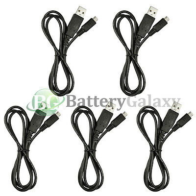 50 Micro USB Rapid Travel Battery Charger Data Cable Cord For Android Cell Phone