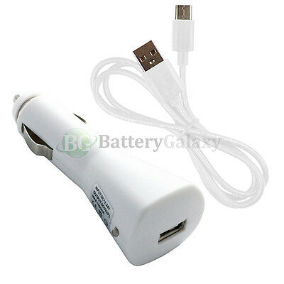 USB Type C Cable+Car Charger for Motorola Moto Z Force / Z Play Droid 50+SOLD
