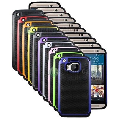 CLEARANCE Lot of 10 Hybrid Rubber Hard Case Skin for Android Phone HTC One M9
