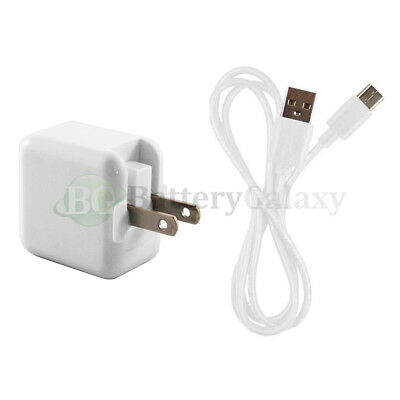 USB Type C Cable+RAPID Charger for Android Motorola Moto Z Force / Z Play Droid