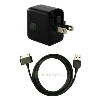 """RAPID Battery Home Wall Charger+USB Cable for Samsung Galaxy Note 2 Tablet 10.1"""""""