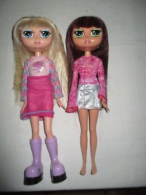 "2 - Mattel 2001 Diva Star / Starz 12"" Red Head & Blonde Doll"