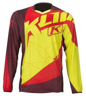 Klim Offroad XC Jersey Red Mens All Sizes