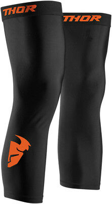 Thor MX Adult S8 Compression Knee Sleeves Black S-3XL