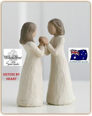 Willow Tree SISTERS BY HEART Figurine By Susan Lordi By Demdaco NEW IN BOX