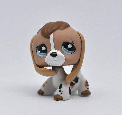 Pet Beagle Puppy Dog Child Girl Boy Figure Littlest Toy Loose Cute LPS942