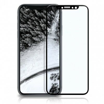 3D Schutz Glas für iPhone X Curved Display Schutz Folie Full Screen Echt Glass