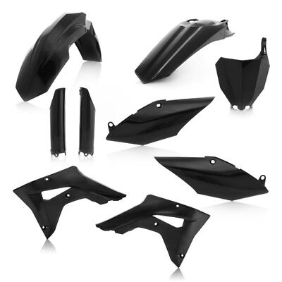 Acerbis Black Plastic Full Kit For Honda CRF 450 RX 2017 2645470001