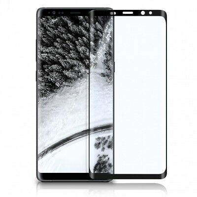 3D Panzer Glas für Samsung Galaxy NOTE 8 Full Screen Protector Cover Curved 9H