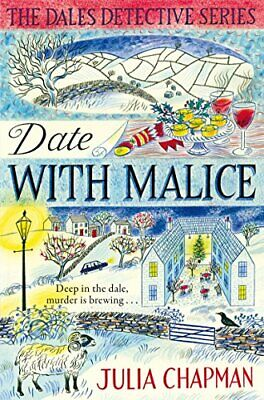 Date with Malice (The Dales Detective Series) by Chapman, Julia Book The Cheap