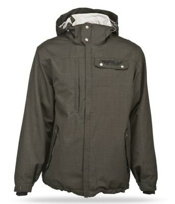 Fly Racing 2014 Adult Phantom Jacket Charcoal Coat Size Medium MD