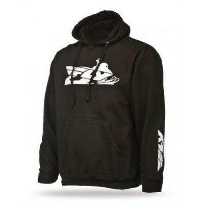 Fly Racing 2014 Adult Hoody Primary Snow Black Hoodie Size Small SM