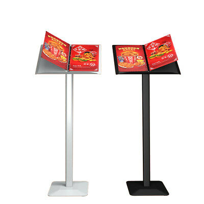 Ring Binder Lectern Stand / Menu Stand / Catalogue Browser Floor Stand Brochure