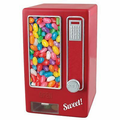 Children's Red Retro Sweet Dispenser Vending Machine Snack Jelly Bean Candy Nuts