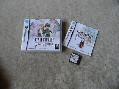 FINAL FANTASY CRYSTAL CHRONICLES - RING OF FATES - DS  Game - Complete