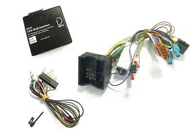 Lenkrad Interface Can Bus Adapte VW Golf V VI Blaupunkt (Mini ISO Stecker) Radio