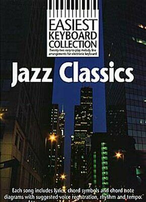 Easiest Keyboard Collection: Jazz Classics. Sheet Music for Melody Line, Lyrics