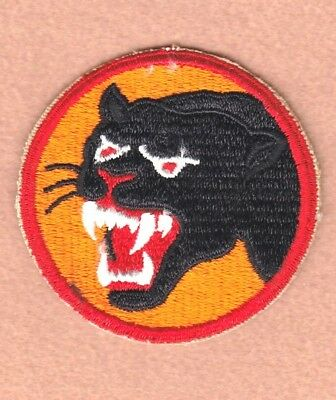 Army Patch: 66th Infantry Division, cut edge, WWII era