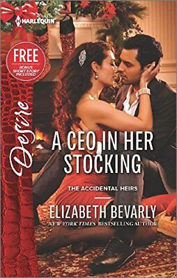 A Ceo in Her Stocking (Harlequin Desire) by Bevarly, Elizabeth Book The Cheap