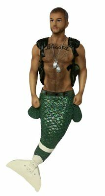 December Diamonds LE Hero Merman Christmas Ornament 5555051 Wounded Warriors New