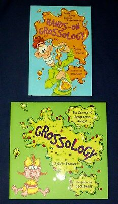 Grossology & Hands On Lab Book  - LOT of  2  NEW - Gross Science & Experiments