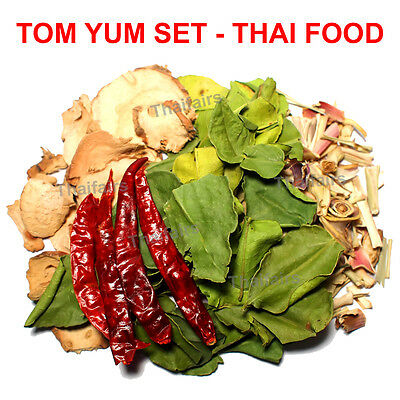 TOM YUM SET DRIED HERBS SPICE MIXTURE FOR DELICIOUS THAI FOOD SPICY SOUP 40gr x2