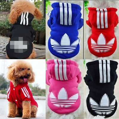 NewPet Dog Cat Puppy Sweater Hoodie Coat For Small Pet Apparel Warm Costume