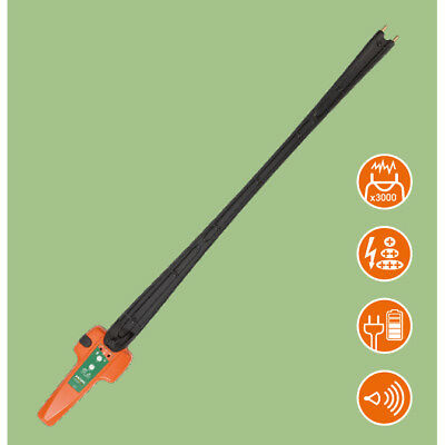 Extra Heavy Duty Electric Cattle Prod - Extra Long Reach