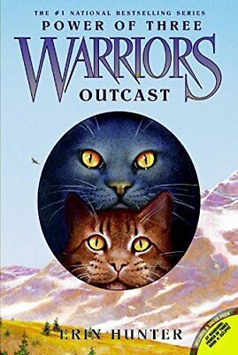 Warriors: Power of Three #3: Outcast by Hunter, Erin Book The Cheap Fast Free