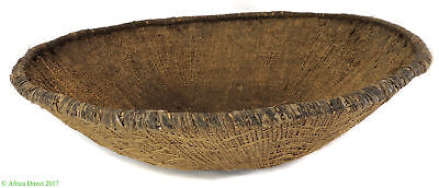 Antique Tonga Binga Basket Bowl Zimbabwe Africa  24 Inch