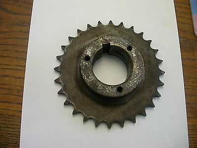 Browning Sprocket 50P28 #50 Chain 28 Teeth Split Taper P1 Size Bushing
