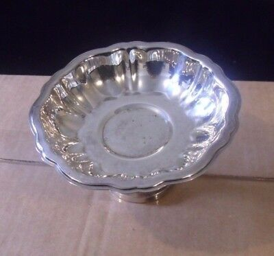Silverplated Candy Dish, with pedistal, Wm. A. Rogers