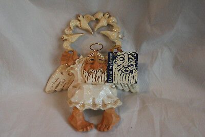 NEW 1996 David Frykman Coyne's & Co Angel All That Glitters DOVES Ornament