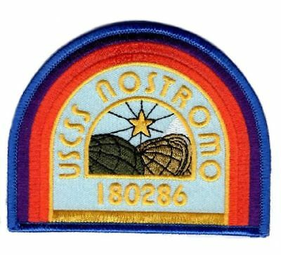 Alien Movie USCSS Nostromo Cosplay Crew Costume iron on Patch (MTA1)