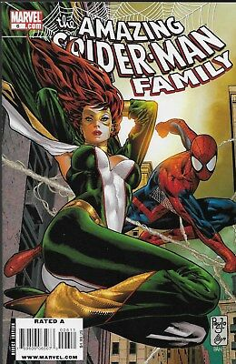 The Amazing Spider-Man Family No.6 / 2009 Jackpot / Spider-Girl