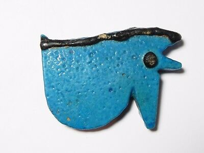 Zurqieh - Asw11- Ancient Large Faience Eye Of Horus Amulet, 1075 - 600 B.c
