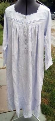 NEW EILEEN WEST Lavender Fairy Tale Flannel Gown c77af61c1