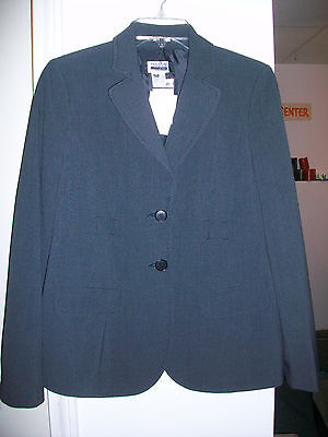 NWT $128 Mimi Maternity Charcoal Grey Jacket Blazer S Small NEW