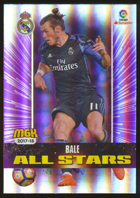 #403. GARETH BALE (All Stars) - Real Madrid CF 2017/2018 - CARD MegaCracks